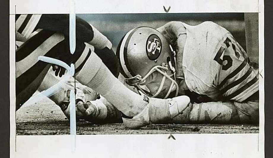 03102011_dan_bunz_1.jpg  1979  Dan Bunz shows his disgust Photo: John Storey, SF Chronicle File