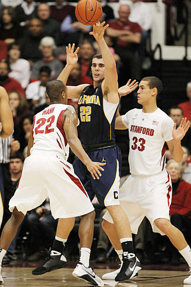 Harper Kamp of the University of California Golden Bears during game action against the Stanford Cardinal on Sunday, January 2, 2011, at Maples Pavilion in Stanford, Calif. Photo: Carlos Avila Gonzalez, The Chronicle
