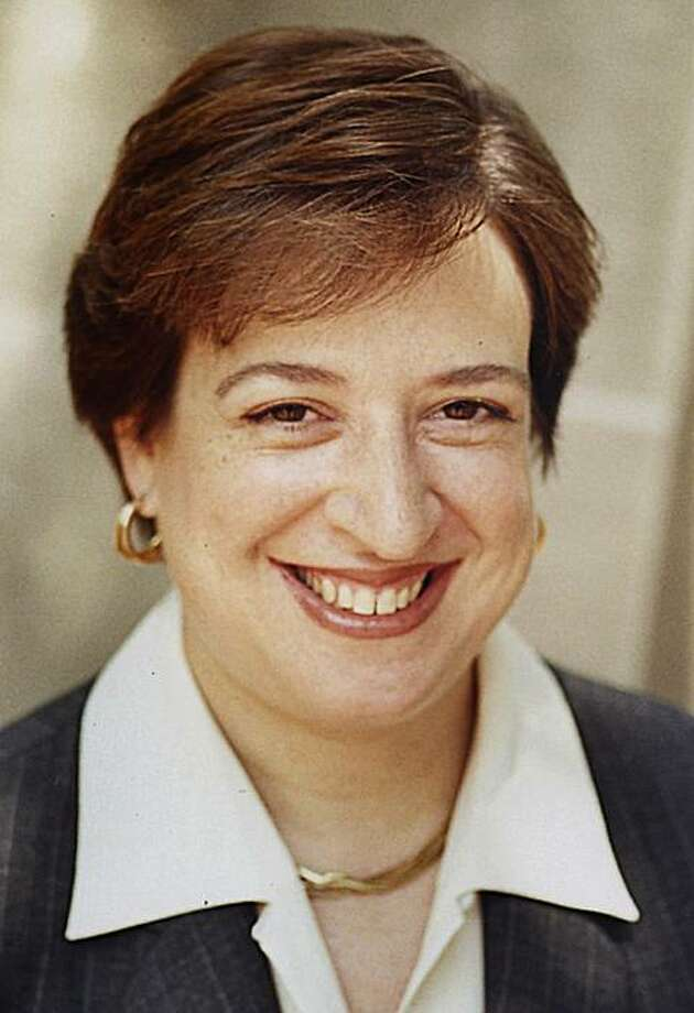 ** FILE ** This April 2003 file photo provided by Harvard University shows Elena Kagan, Harvard University law school dean. On Monday, Jan. 5, 2009, President-elect Barack Obama nominated Kagan to become solicitor general. (AP Photo/Harvard University, Kathleen Dooher, File) ** NO SALES** Photo: Kathleen Dooher, AP