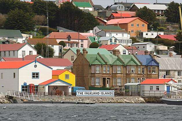 The Stanley waterfront, Falkland Islands Photo: Falkland Islands Tourist Board