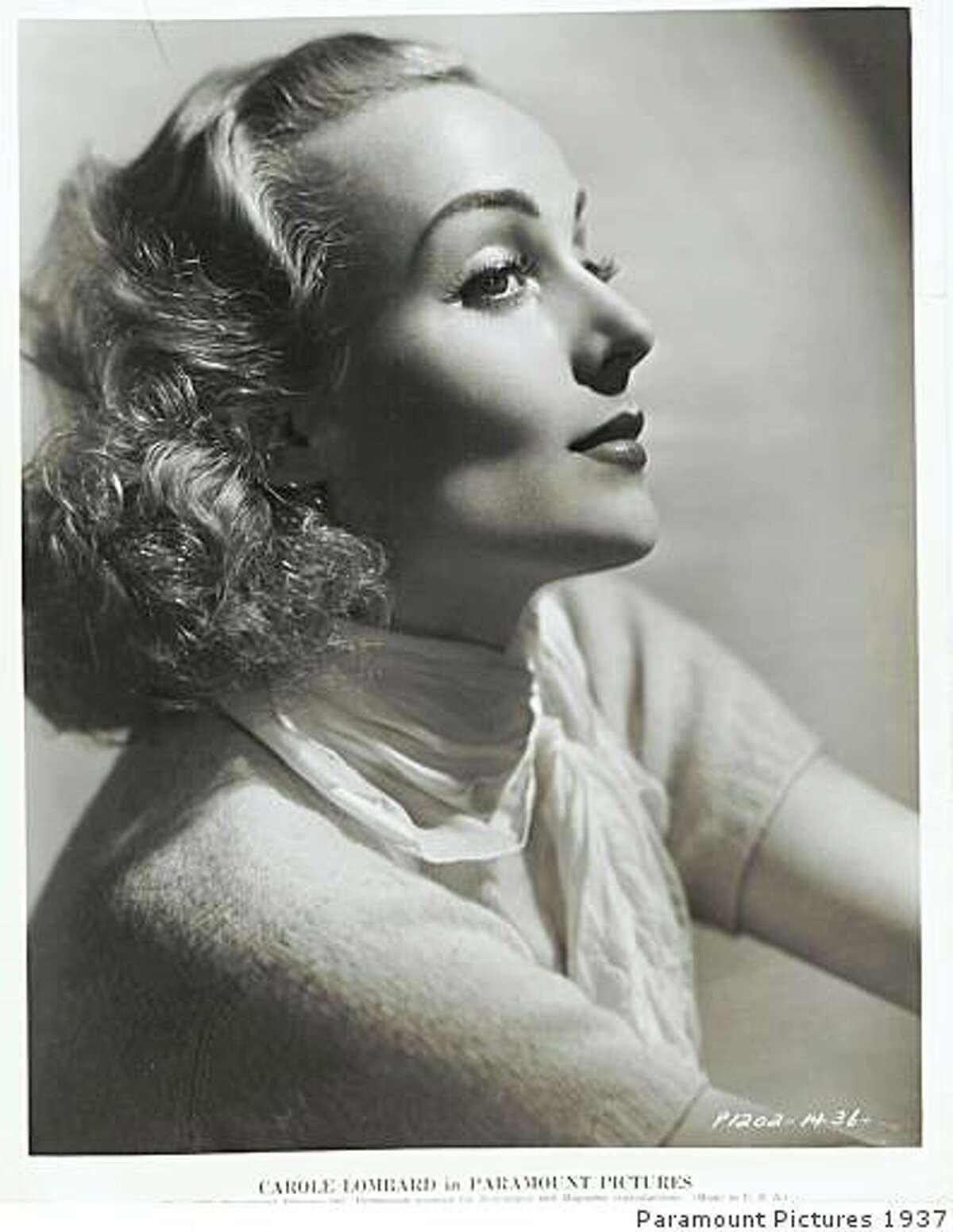 """Carole Lombard in """"Swing High, Swing Low."""""""