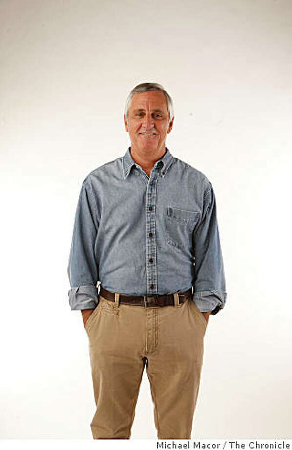 Chronicle columnist, Bruce Jenkins stands for a photograph inside the studio on Tuesday Jan. 27, 2008 in San Francisco,Calif. Photo: Michael Macor, The Chronicle