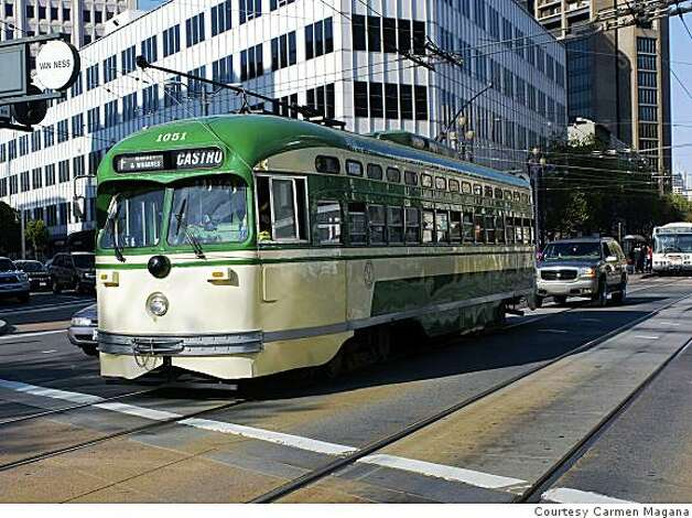 Municipal Railway Streetcar 1051 will be named in honor of slain San Francisco Harvey Milk. Photo: Courtesy Carmen Magana