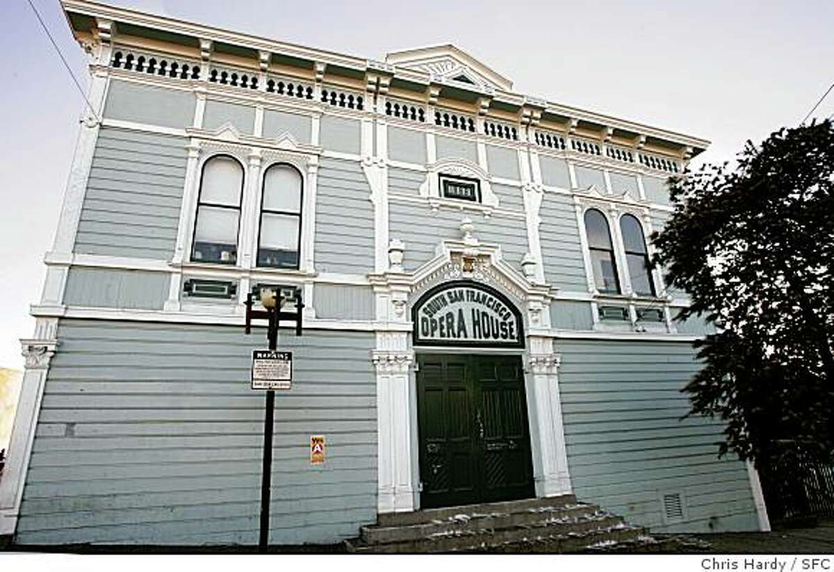 Historic buildings covered by San Francisco's Prop. B. The Bayview Opera House.