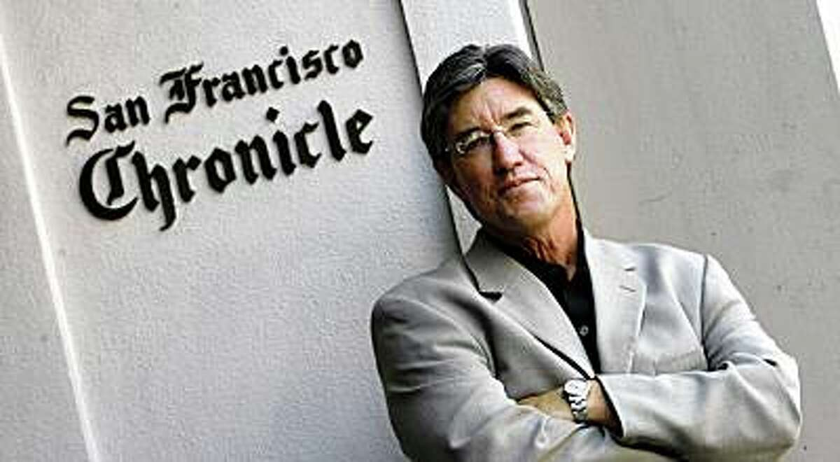 nevius_0084_df.jpg C.W. Nevius, columnist with the San Francisco Chronicle. Photographed in San Francisco on 8/3/06. (Deanne Fitzmaurice/ The Chronicle)