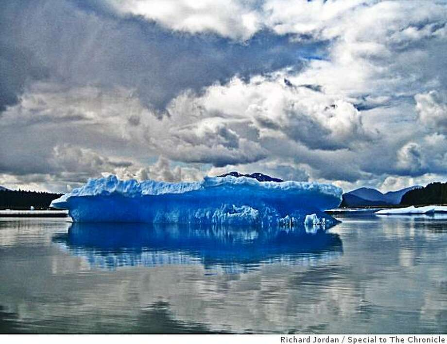 """Tidy Bowl Blue"" Iceberg, LeConte Bay Photo: Richard Jordan, Special To The Chronicle"