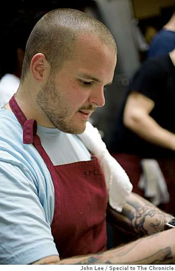 Nate Appleman of A16 in San Francisco has won the James Beard Rising Star Chef award. Photo: John Lee, Special To The Chronicle