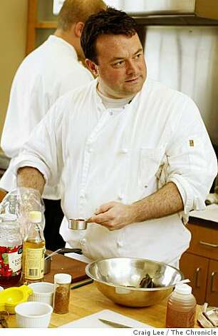 Douglas Keane of Cyrus in Healdsburg has won a James Beard regional award. Photo: Craig Lee, The Chronicle