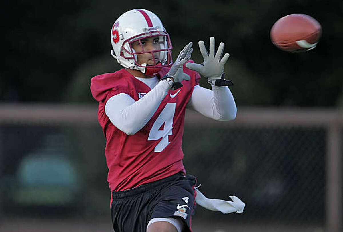 Stanford Cardinals wide receiver Drew Terrell during practice, Monday Feb. 21, 2011, in Stanford, Calif.
