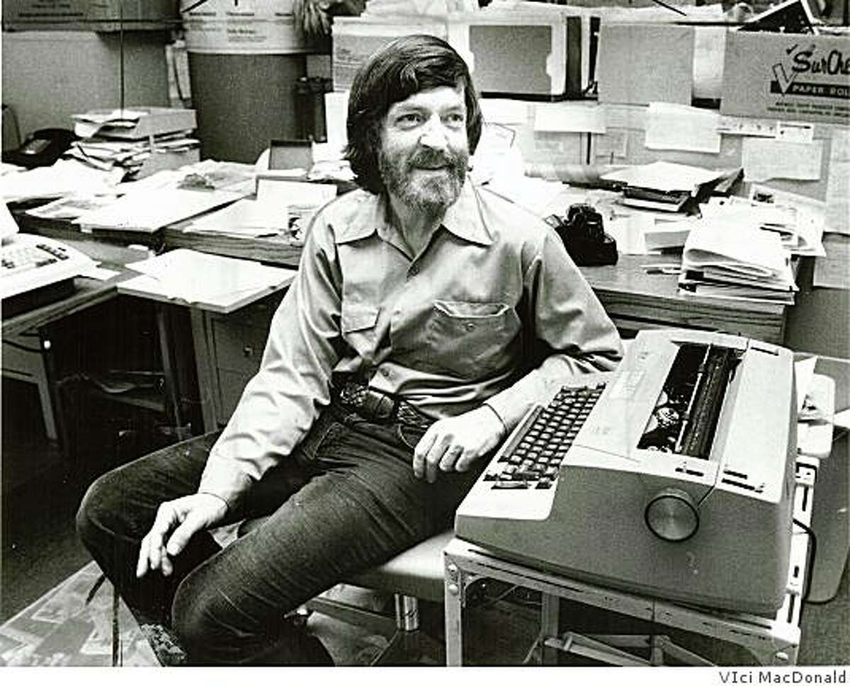 San Francisco Chronicle art critic Tom Albright in 1980.