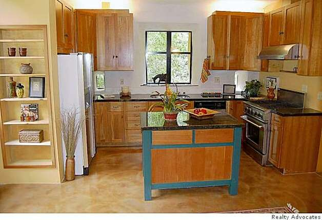 The kitchen on 99 Roble Road Photo: Realty Advocates