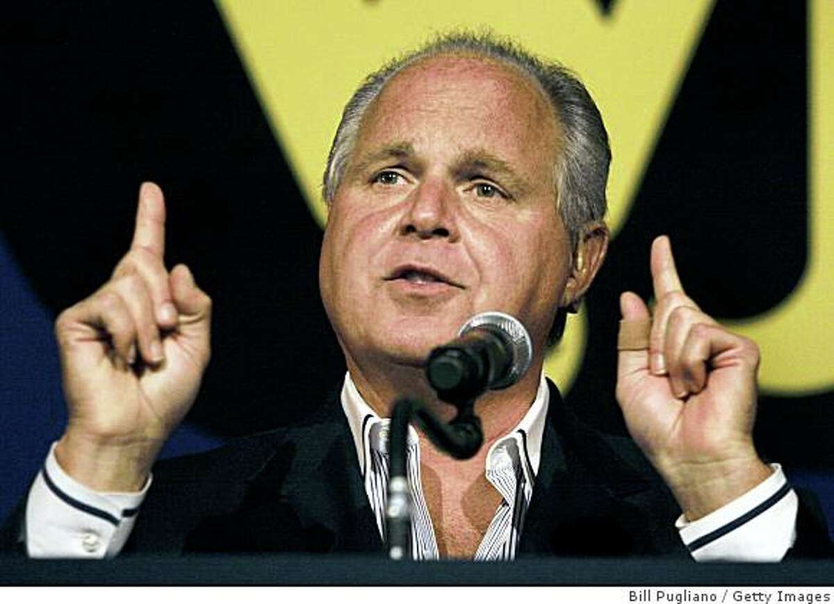 radio host Rush Limbaugh collected $38 mil?lion? last year NOVI, MI - MAY 3: Radio talk show host and conservative commentator Rush Limbaugh speaks at