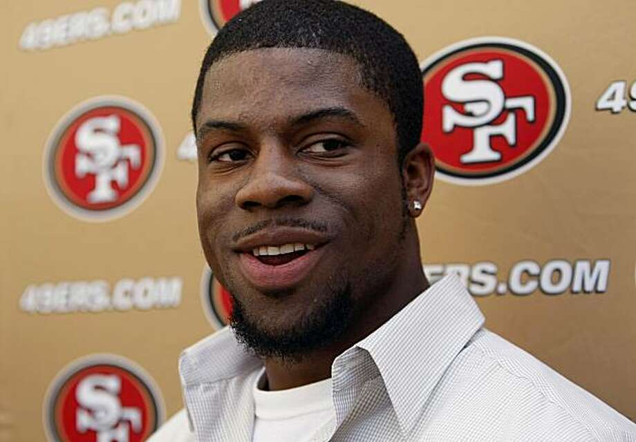 The San Francisco 49ers introduce their rookies for the 2009 season at the 49ers headquarters in Santa Clara, Calif. on Thursday April 30, 2009.  Glen Coffee Photo: Michael Macor, The Chronicle