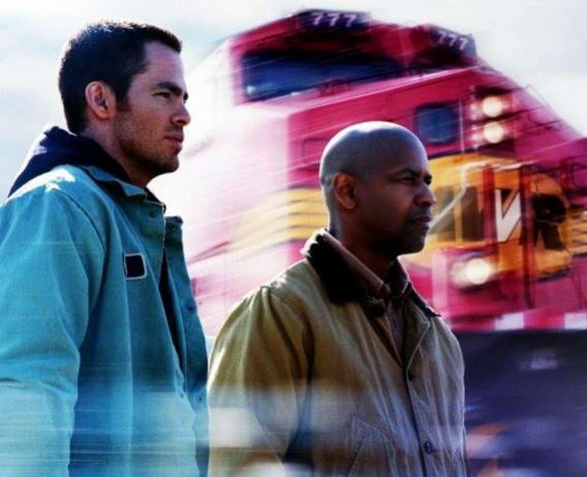 """Unstoppable"": Chris Pine and Denzel Washington"