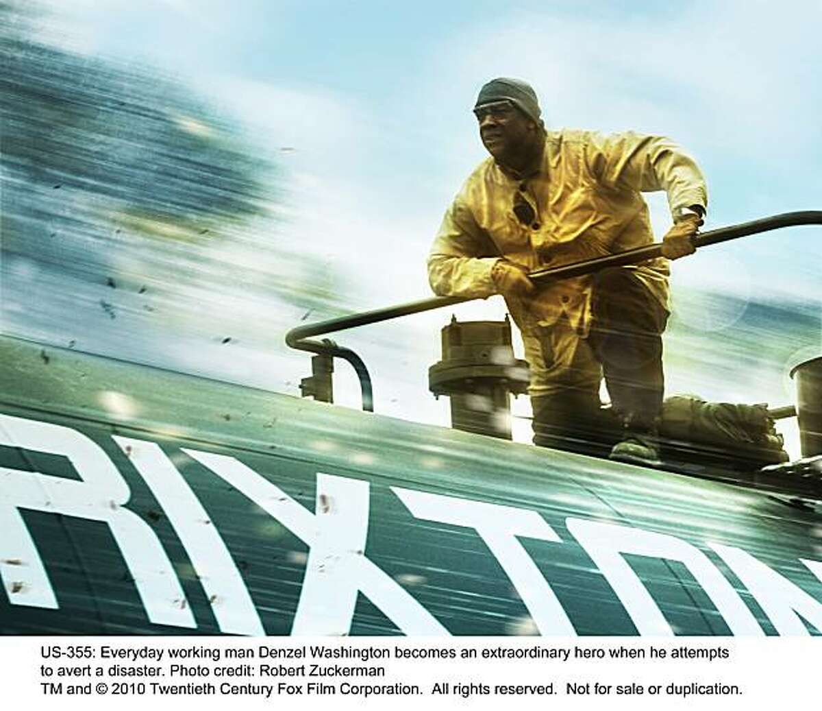 UNSTOPPABLE Everyday working man Denzel Washington becomes an extraordinary hero when he attempts to avert a disaster.
