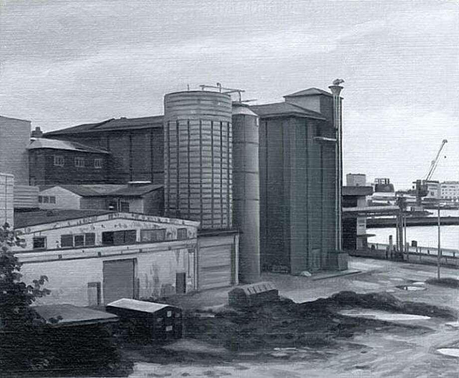 "Nicholas Middleton's ""Grain Store."" Photo: Hespe Gallery"