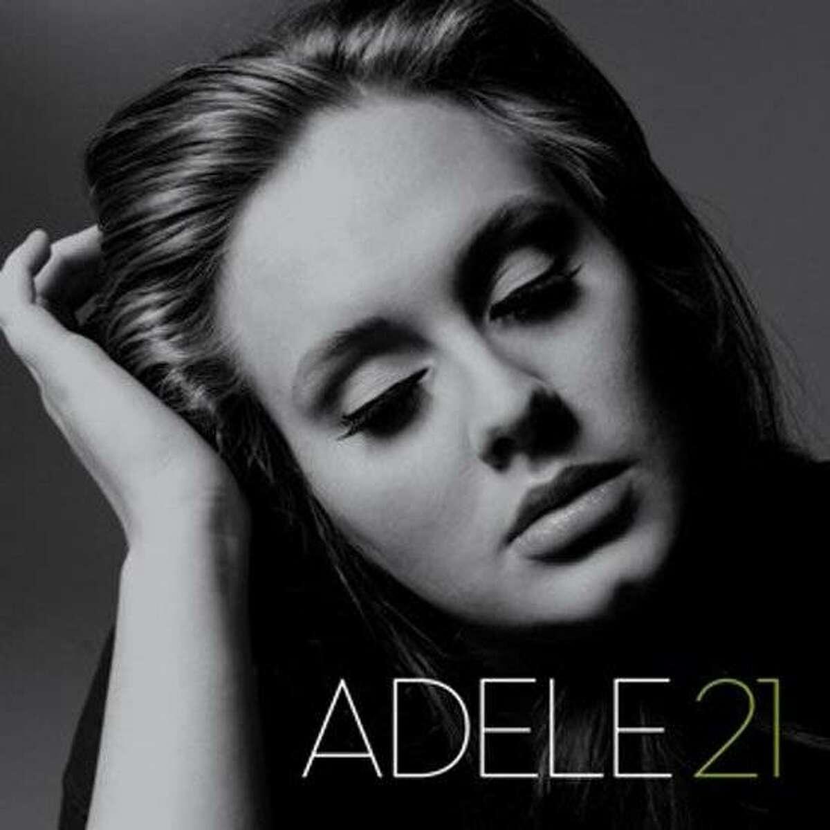 """Adele's CD """"21."""""""