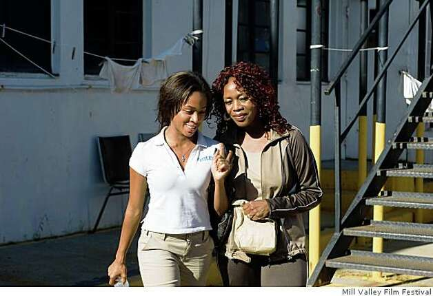 "Nicole Behaire and Alfre Woodard (right) in ""American Violet."" Photo: Mill Valley Film Festival"
