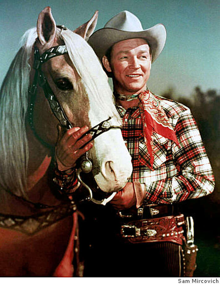 Roy Rogers poses with his horse, Trigger in this undated file photo. Photo: Sam Mircovich