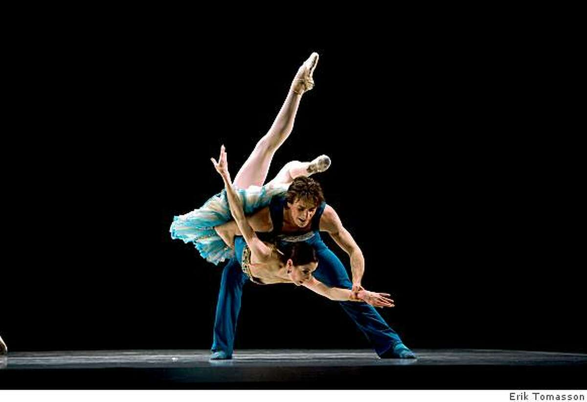 Vanessa Zahorian and Pascal Molat in Elo's Double Evil. Program 8