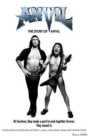 Anvil! The Story of Anvil film poster Photo: Ross Halfin