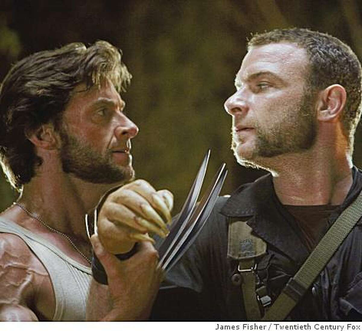 X-Men Origins: Logan (Hugh Jackman) and Victor Creed (Liev Schreiber) face off for the ultimate battle ? against each other.