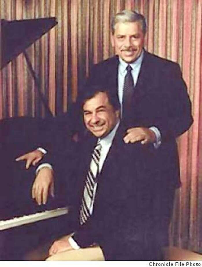 Disney composers Richard and Robert Sherman Photo: Chronicle File Photo
