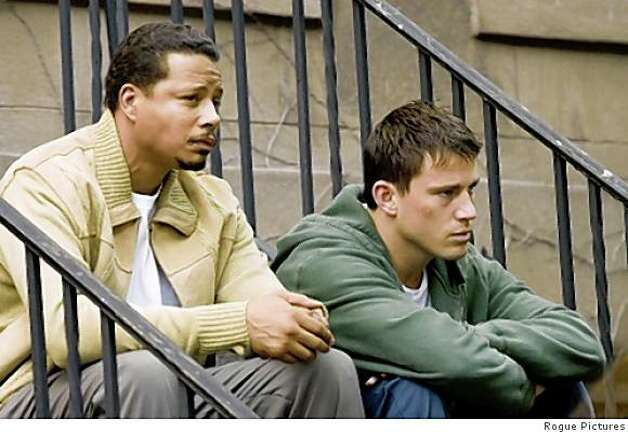"Terrence Howard and Channing Tatum in ""Fighting."" Photo: Rogue Pictures"