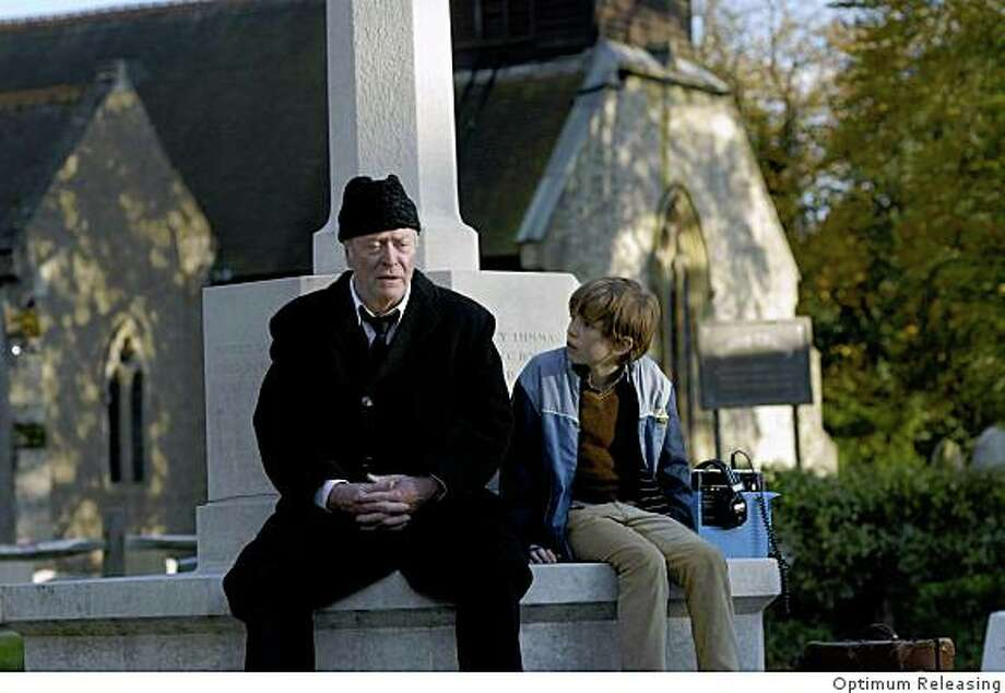 "Michael Caine and Bill Milner in ""Is Anybody There?"" Photo: Optimum Releasing"