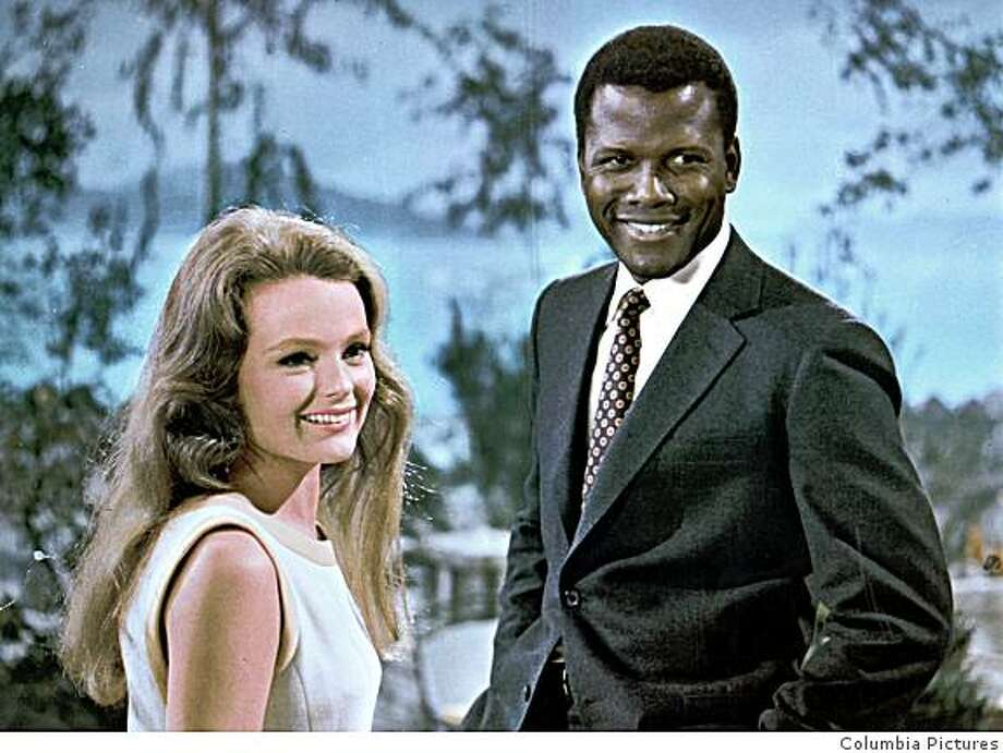 "Katharine Houghton and Sidney Poitier star in Columbia Pictures ""Guess Who's Coming to Dinner."" Photo credit: Columbia Pictures Photo: Columbia Pictures"