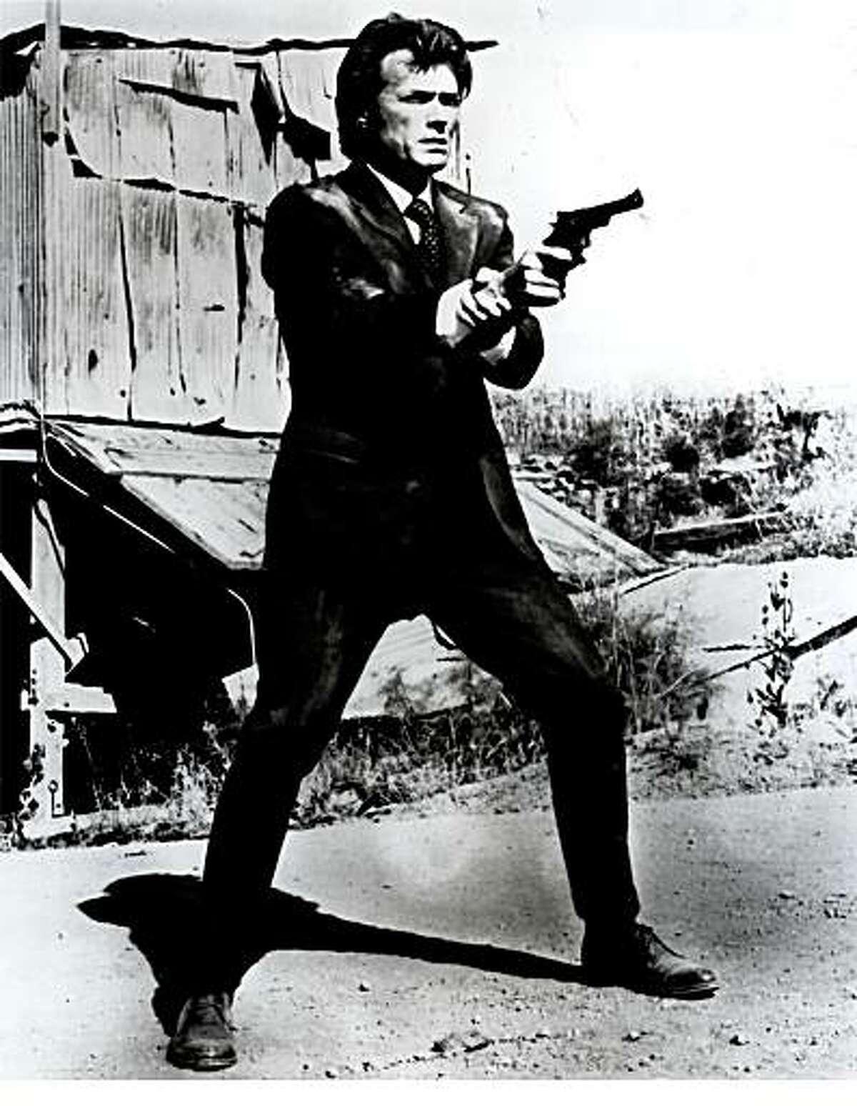 Clint Eastwook as Dirty Harry Callahan
