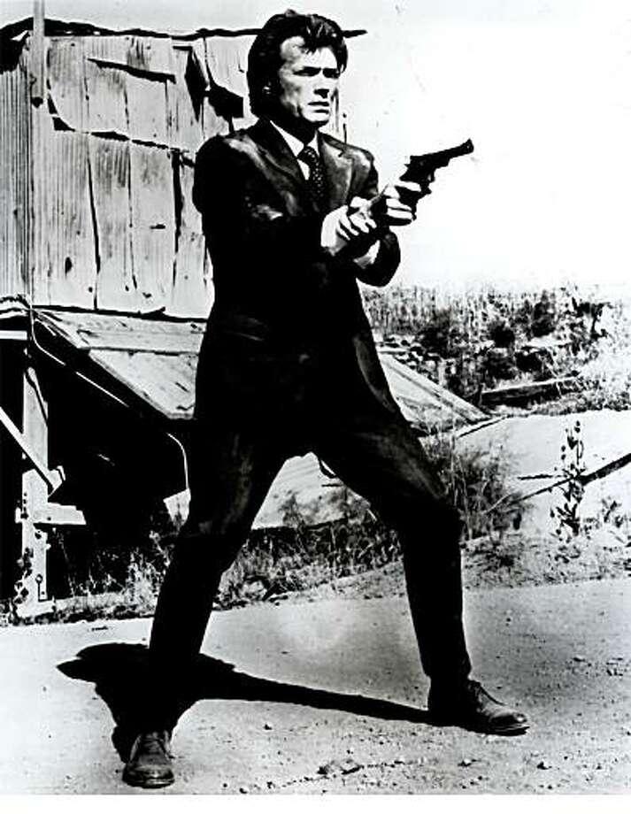 Clint Eastwook as Dirty Harry Callahan Photo: Ho