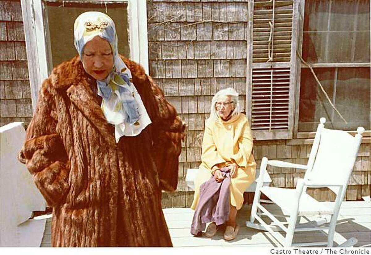 """""""Grey Gardens"""" - the story of the Edith Bouvier Beale and her mother who live isolated lives in a decrepit mansion in East Hampton, New York -- will play Monday through Tuesday at the Castro Theatre in San Francisco."""