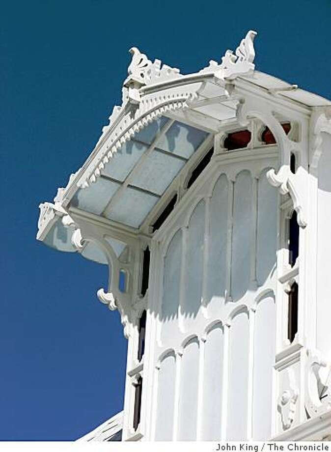 The Conservatory of Flowers is the most fun building in Golden Gate Park! Photo: John King, The Chronicle