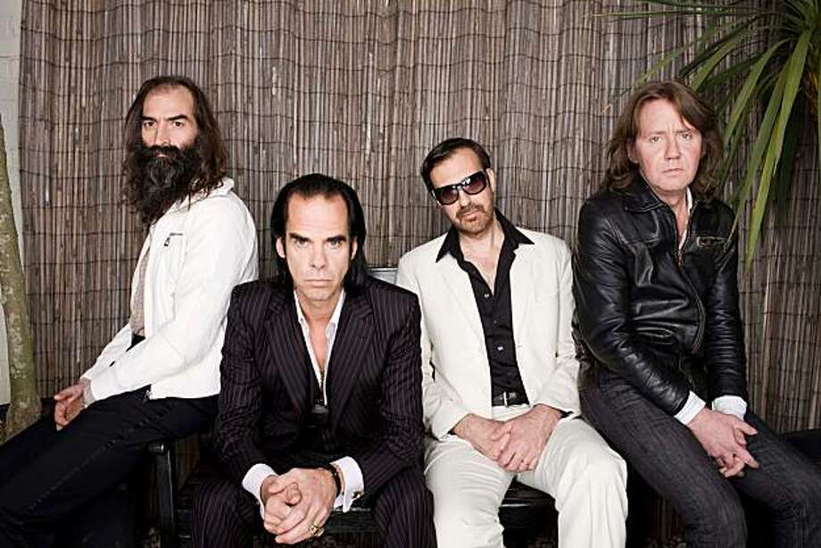 Nick Cave, second from left, and Grinderman: Not big Harry Potter fans. Photo: Polly Borland, Epitaph