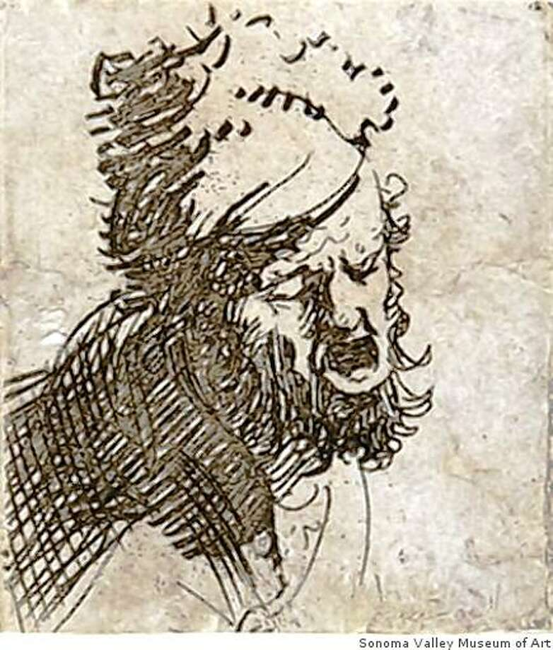 """One of the etchings from """"Sordid and Sacred: The Beggars in Rembrandt's Etchings"""" April 18-June 7 at Sonoma Valley Museum of Art. Photo: Sonoma Valley Museum Of Art"""