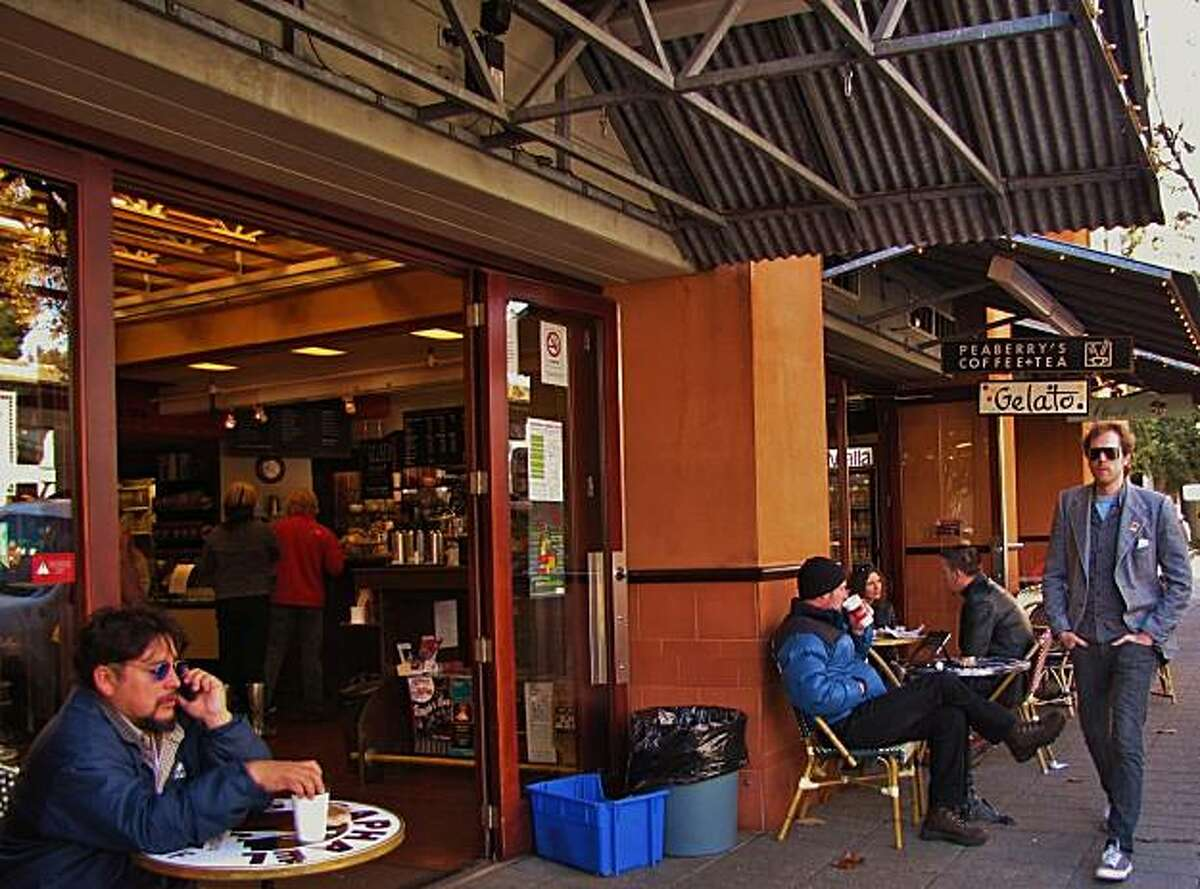 Site: Rockridge Market Hall Location: Peaberry?s Coffee and Tea