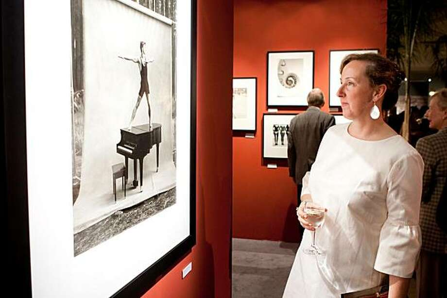 "The Fall Antiques Show on Oct. 27, 2010, considered among the top 10 in the world, was themed ""Chinoiserie: Rococo to Eco."" The show, where customers paid hundreds of dollars to attend, was a benefit for Enterprise for High School Students. Here, at the VIP gala, from left to right, are:Jennifer Baxter Photo: Drew Altizer, PHOTO  - Claudine Gossett"