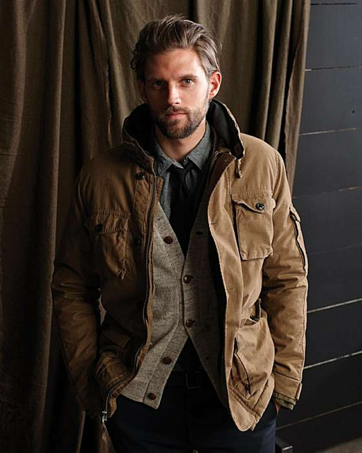 A fall 2010 men's look from J. Crew.