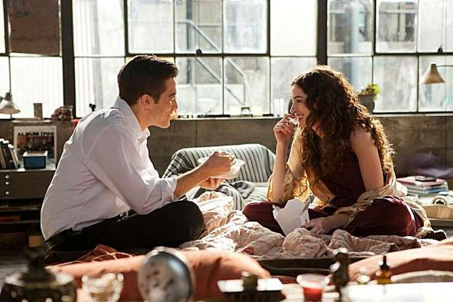 """Love & Other Drugs."" Jake Gyllenhaal and Anne Hathaway. Photo: David James, 20th Century Fox"