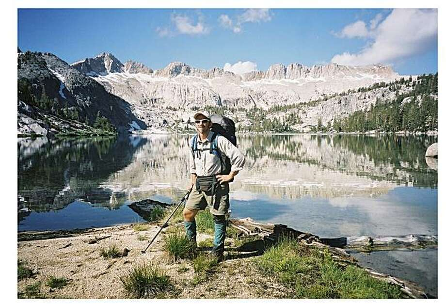 Tony Bellaver at Peter Pande Lake, California Photo: Courtesy Of Tony Bellaver