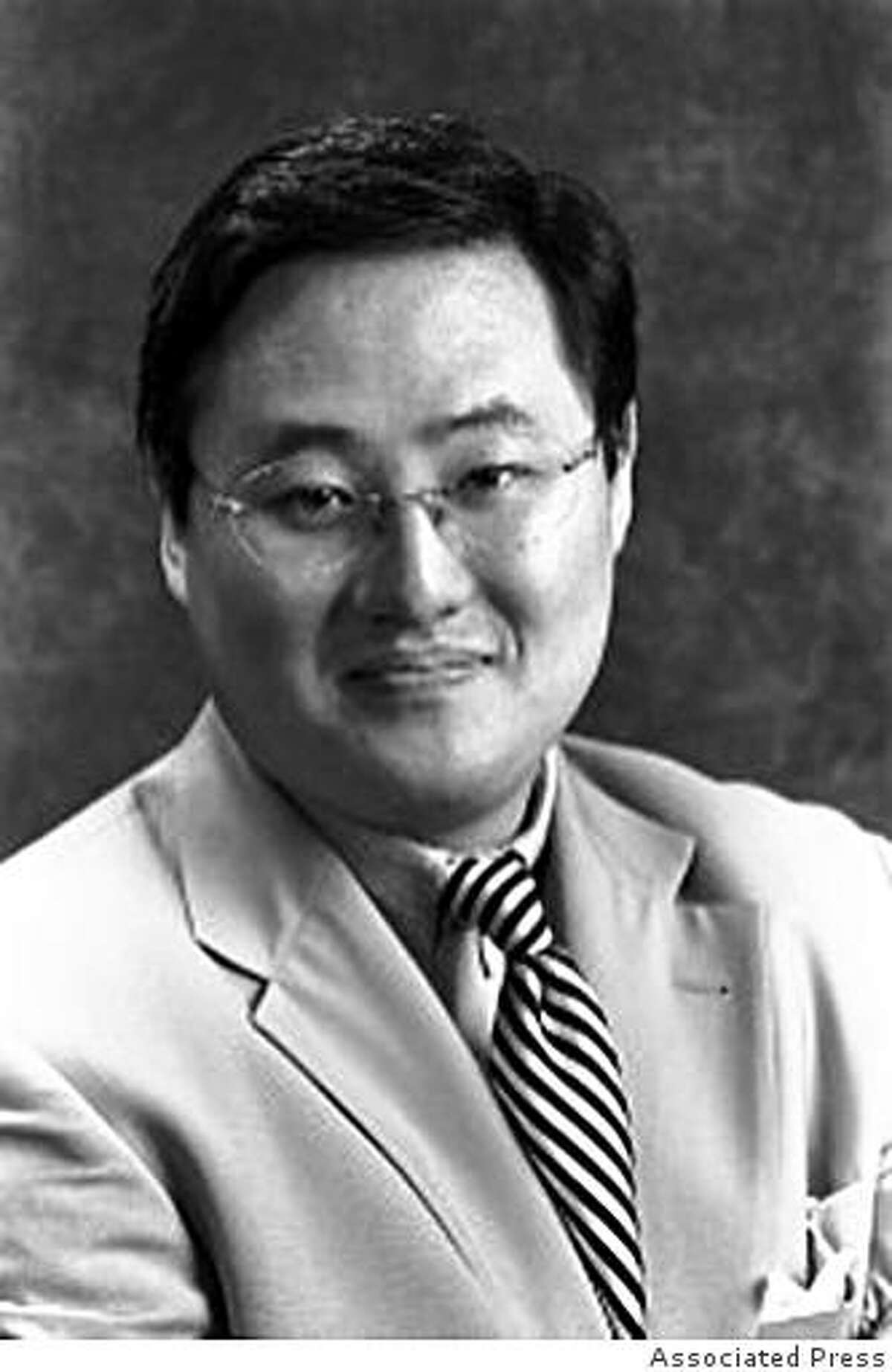 This is an undated photo of John Yoo, professor of law at the University of California at Berkeley. Students at the University of California, Berkeley's Boalt School of Law say a legal memo that Yoo co-wrote while working for the U.S. Department of Justice