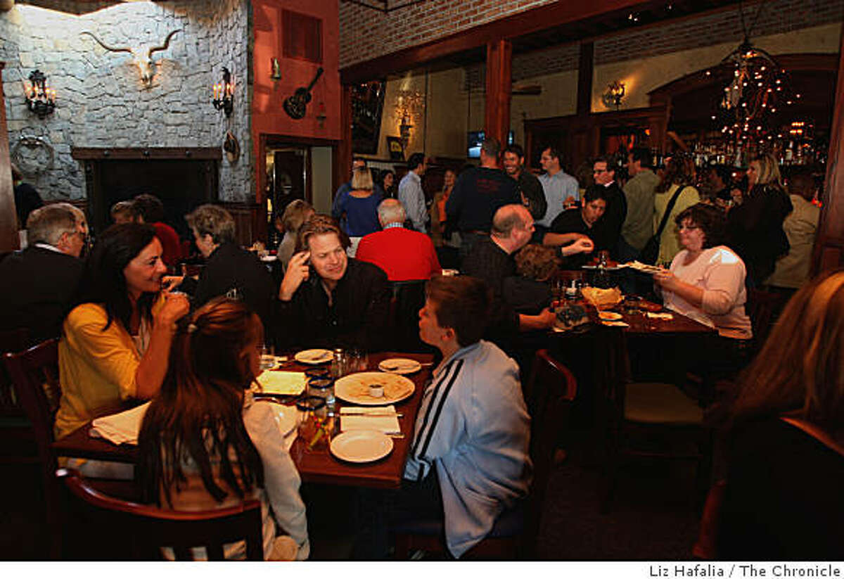 Marinitas is a new upscale Mexican restaurant in San Anselmo, Calif., on Friday, April 3, 2009.