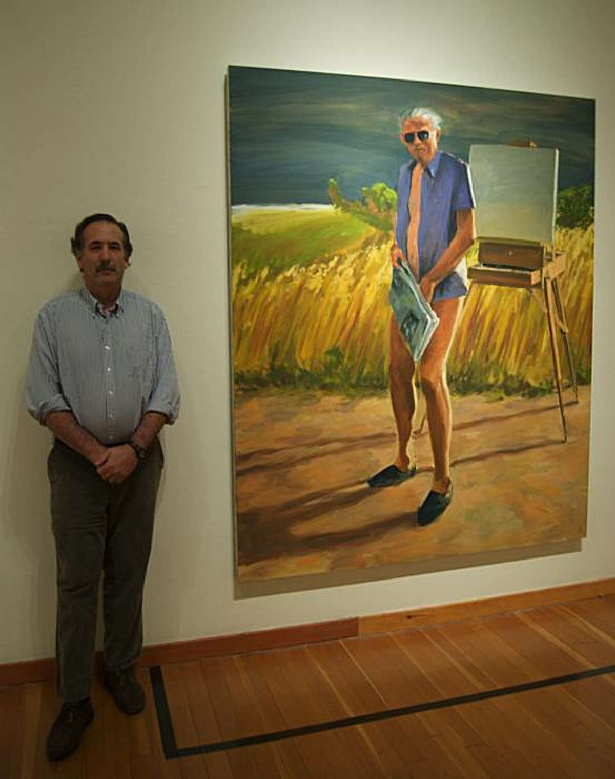 Michael schwager_with work by Eric _fischl: