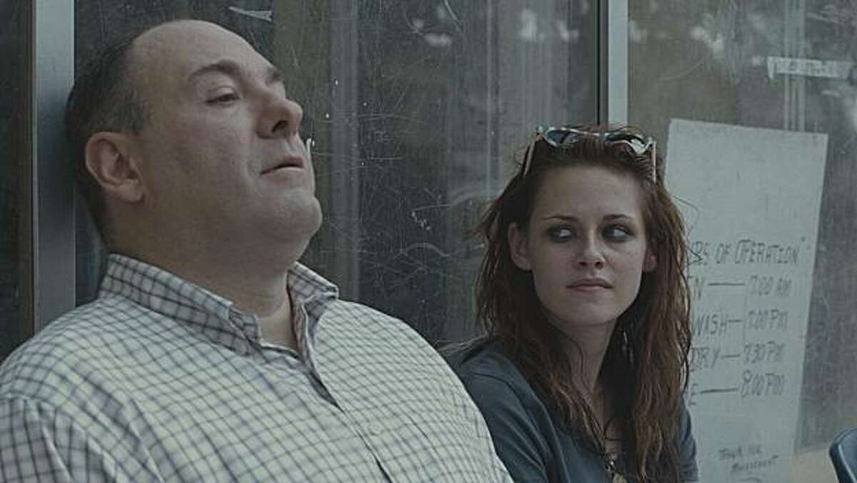 James Gandolfini as Doug Riley and Kristen Stewart as Mallory in WELCOME TO THE RILEYS.