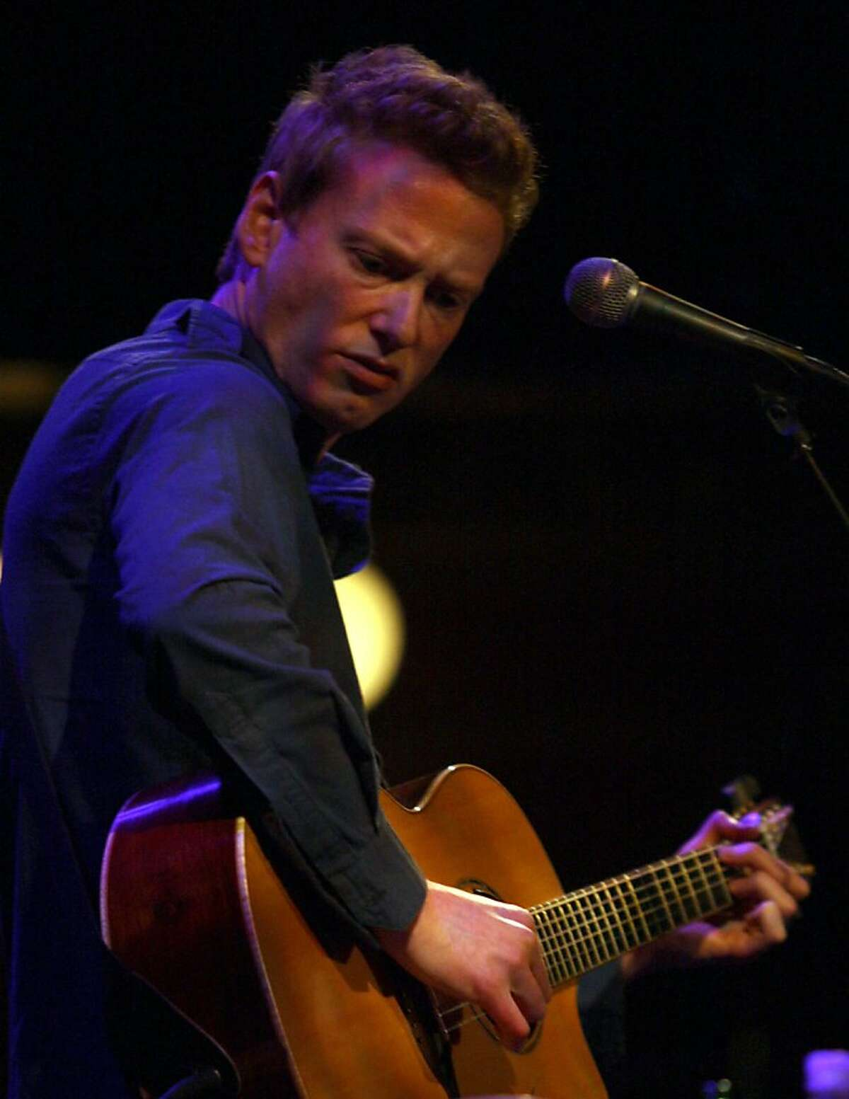 Teddy Thompson at the Great American Music Hall in San Francisco, Calif., on Thursday, April 9, 2009.