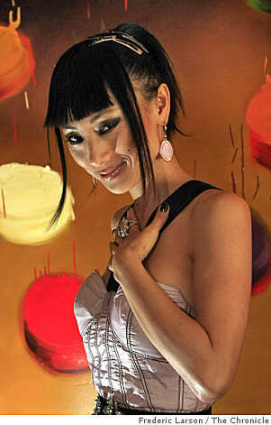 "Bai Ling an actress was in San Francisco on April 3, 2009 to promote ""Crank: High Voltage,"" in which she plays a call girl. Photo: Frederic Larson, The Chronicle"