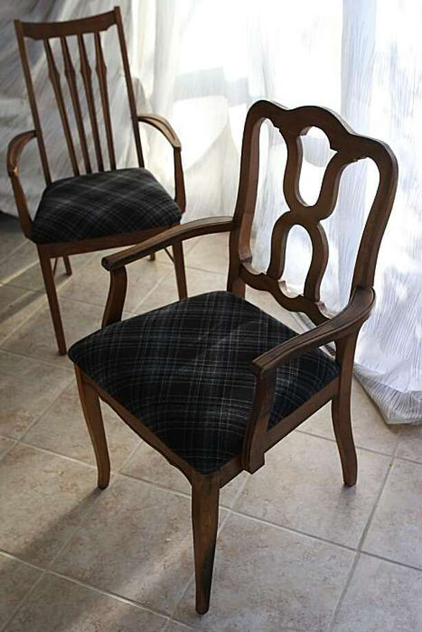 Reupholstered Mismatched Dining Chairs SFGate