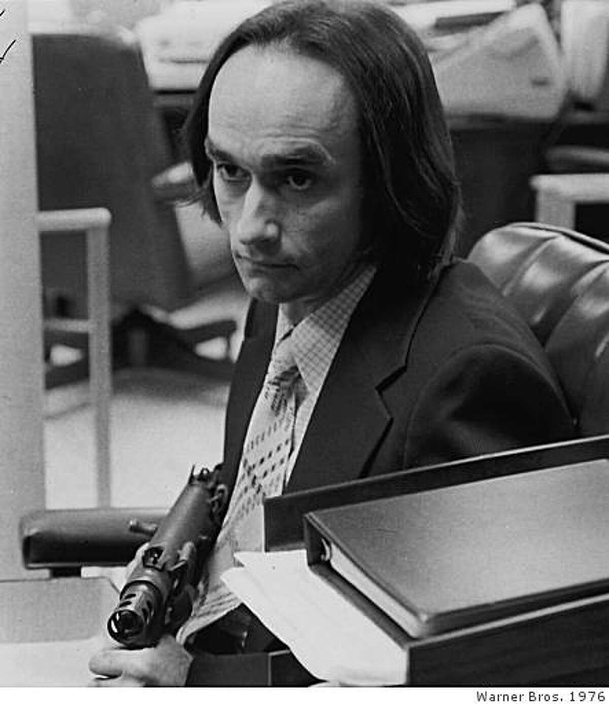 """John Cazale in """"Dog Day Afternoon."""""""