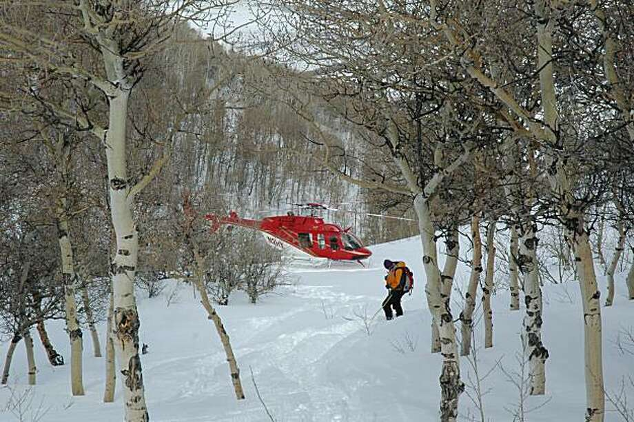 Heliskiing Photo: Bill Fink, Special To The Chronicle